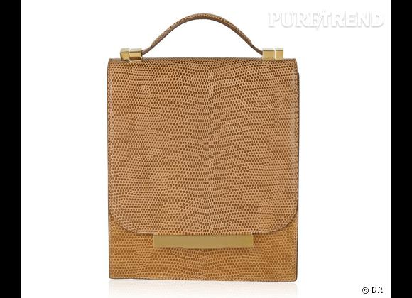 Wanted : les sacs The Row des soeurs Olsen !    Modèle : Classic Lizard Bag.   Prix : 4415 €.  A shopper sur  www.net-a-porter.com