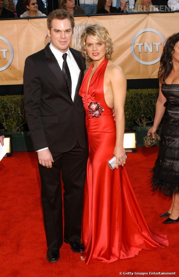 Sur red carpet au côté de son ex, Michael C Hall commence avec timidité. Ainsi, il choisit un costume trois pièces simple... Qui fait tout de même son effet.