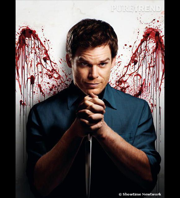 """Michael C Hall dans son rôle de """"Dexter"""", la série au succès phénoménal."""