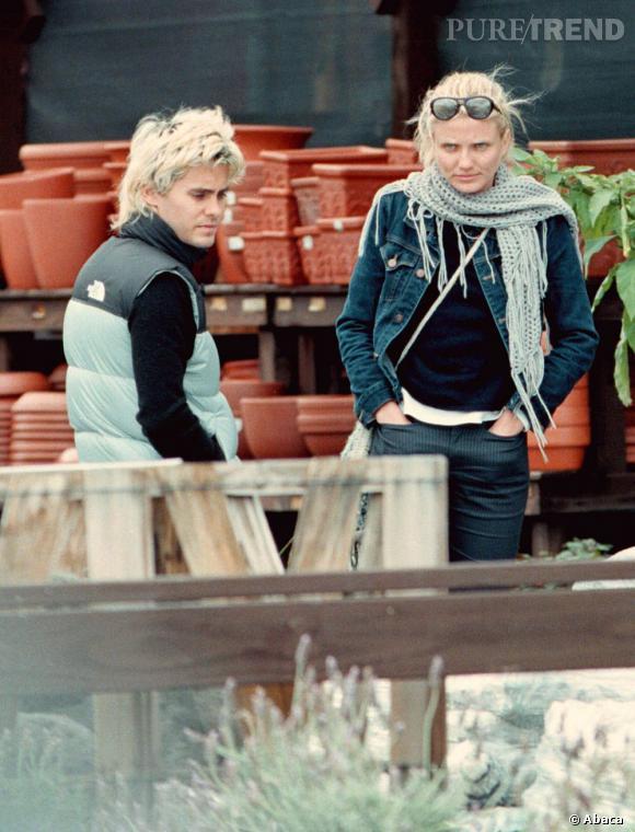 De 1999 à 2003, Jared se la joue Mary à tout prix et craque pour Cameron Diaz. Totalement raccord, ils forment un couple vraiment très blond.