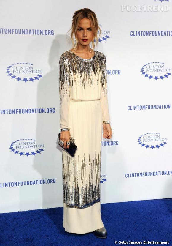 Rachel Zoe à la soirée de gala de la Fondation Clinton.