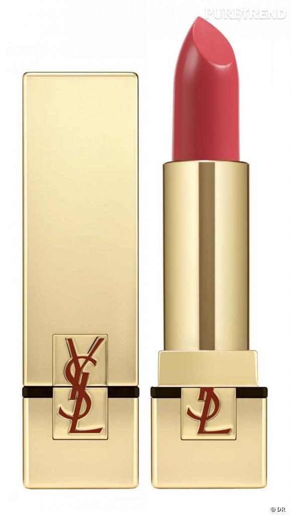 Shopping : les meilleurs rouges à lèvres     Rouge à lèvres Rouge Pur Couture, Yves Saint Laurent, 29 euros