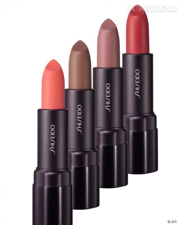 Shopping : les meilleurs rouges à lèvres    Rouge Mat Eclat, Shiseido, 25 euros