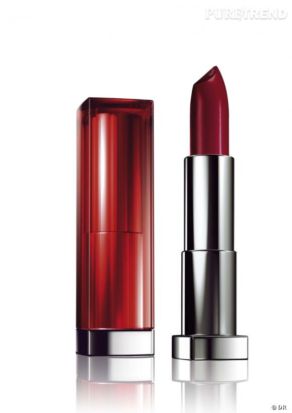 Shopping spécial petits prix : rouge à lèvres pas cher Rouge à lèvres Color Sensational, Gemey Maybelline, 10,90 euros