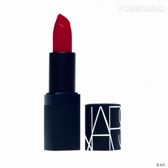 Shopping : les meilleurs rouges à lèvres     Rouge à lèvres NARS, 25 euros