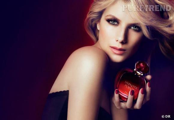 Mélanie Laurent pour le parfum Hypnotic Poison de Dior.