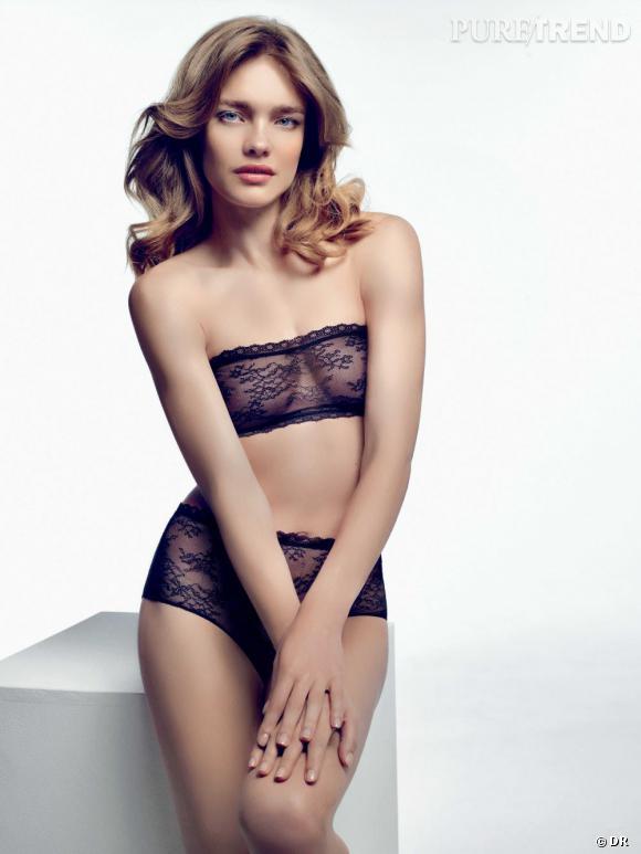 Natalia Vodianova pour Etam Lingerie.... Rosie Huntington Whiteley Skin