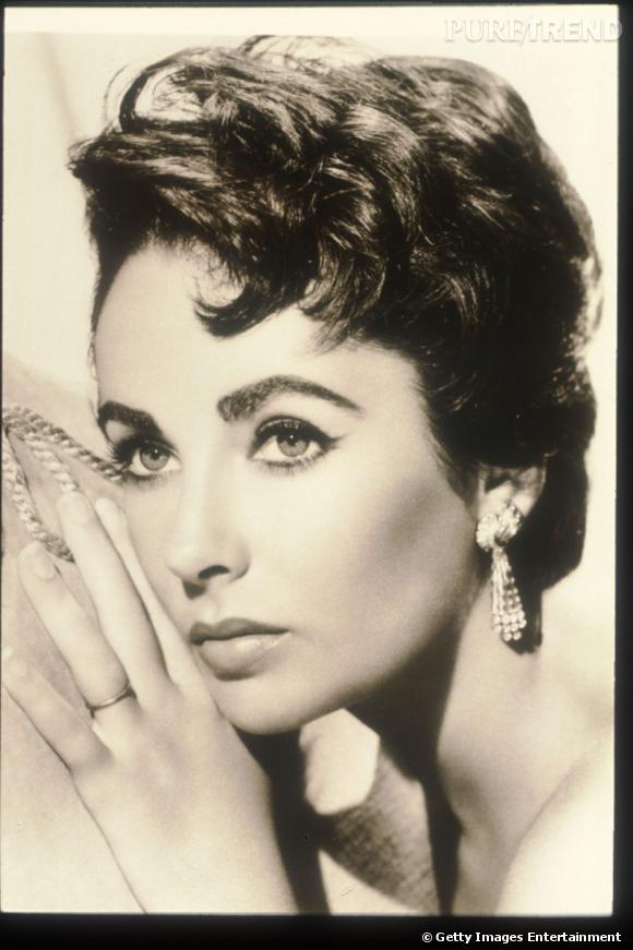 Elizabeth Taylor en 1950.