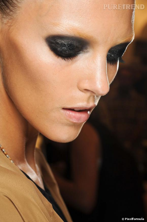 Zoom sur le smoky eye
