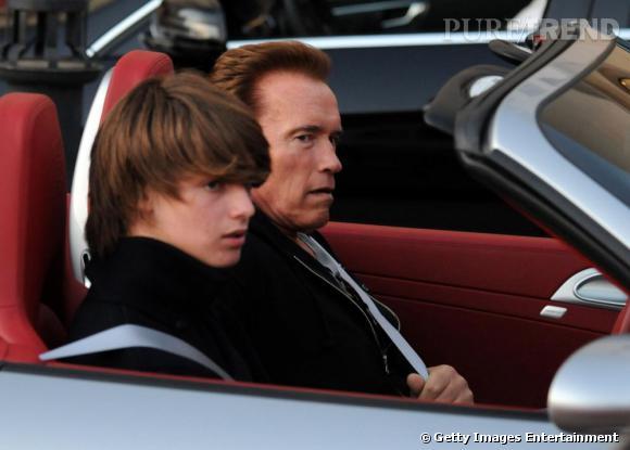 Dur, dur d'être le fils de Terminator. Mais le jeune homme semble bien parti pour eclipser son père.