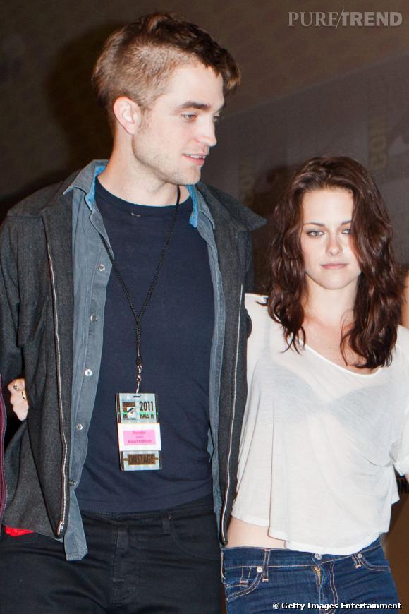 La pire photo de couple : avec sa moitié de crâne rasée, son allure débraillée et une Kristen Stewart pas franchement mieux on est loin du couple hollywoodien parfait.