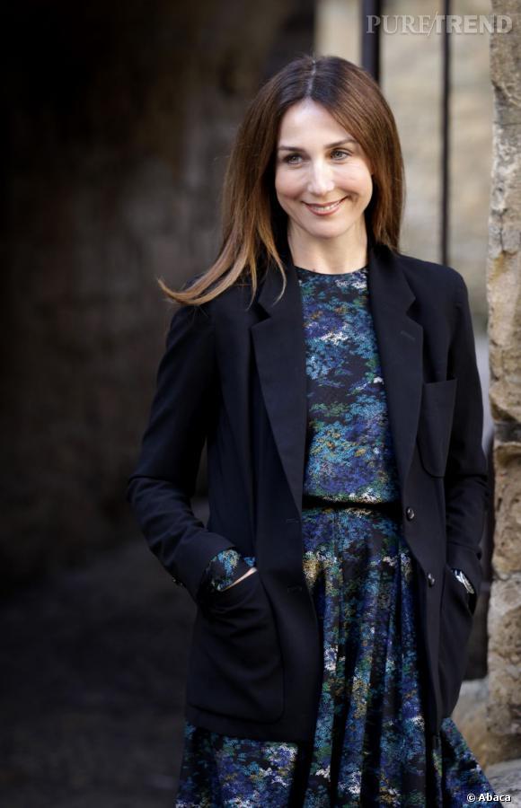 Elsa Zylberstein durant le Festival du Film de Sarlat 2011.