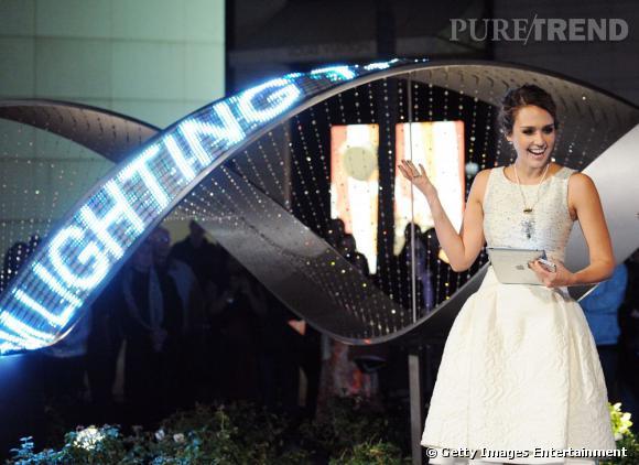 Jessica Alba à la soirée Swarovski Elements et Rodeo Drive à Beverly Hills.