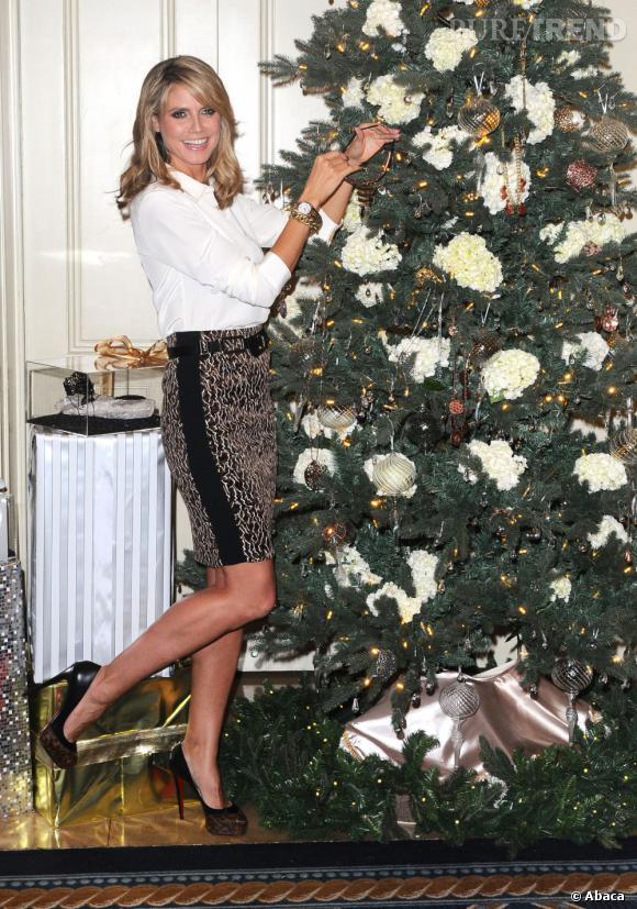 Louboutin aux pieds, Heidi se prête au jeu de la décoration de ...