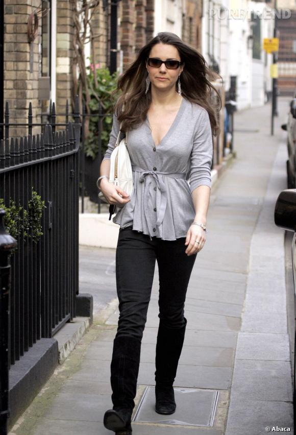 Kate Middleton avant sa perte de poids. Elle avait des joues, de la poitrine et des jambes toniques. Tout ceci n'est qu'un lointain souvenir.