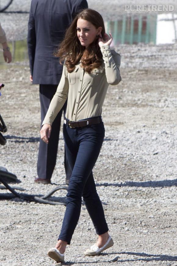Maintenant, Kate est maigre et a perdu de son charme.