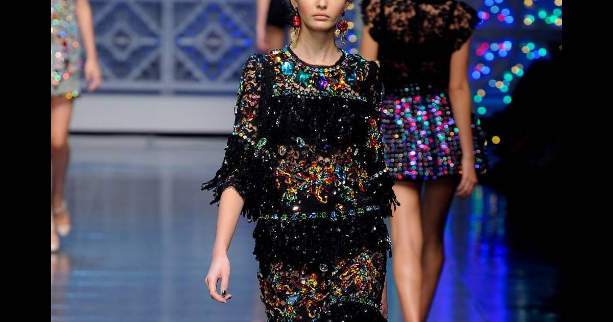 La petite robe noire haute couture