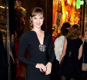 Louise Bourgoin, le décolleté couture