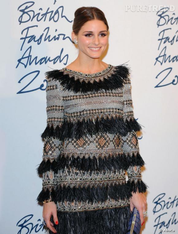Olivia Palermo aux British Fashion Awards 2011 à Londres.