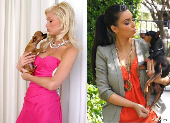Paris Hilton VS Kim Kardashian : la match du siècle