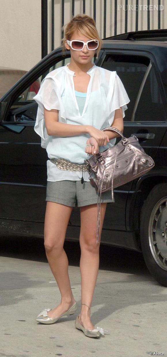 9ee66e9ffce Nicole Richie, fanatique du petit modèle bronze - Puretrend