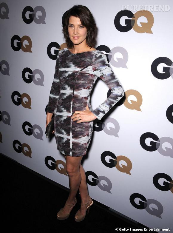 Cobie Smulders, mode, sexy et stylée.