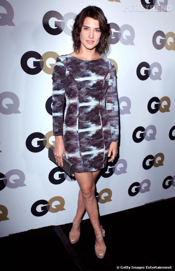 Cobie Smulders invitée à une soirée GQ à Los Angeles.