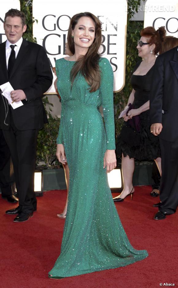 Angelina Jolie, la reine des sequins.