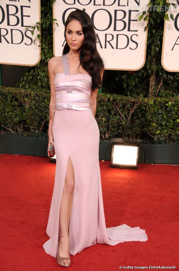 Megan Fox et son fendu.