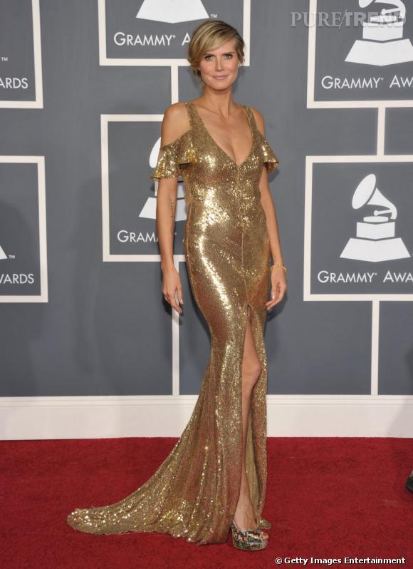 Heidi Klum, une maman qui ne manque pas de sex-appeal.