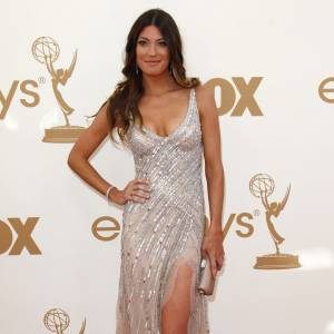 Jennifer Carpenter, cascade de sequins.