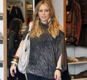 Hilary Duff, future maman prudente