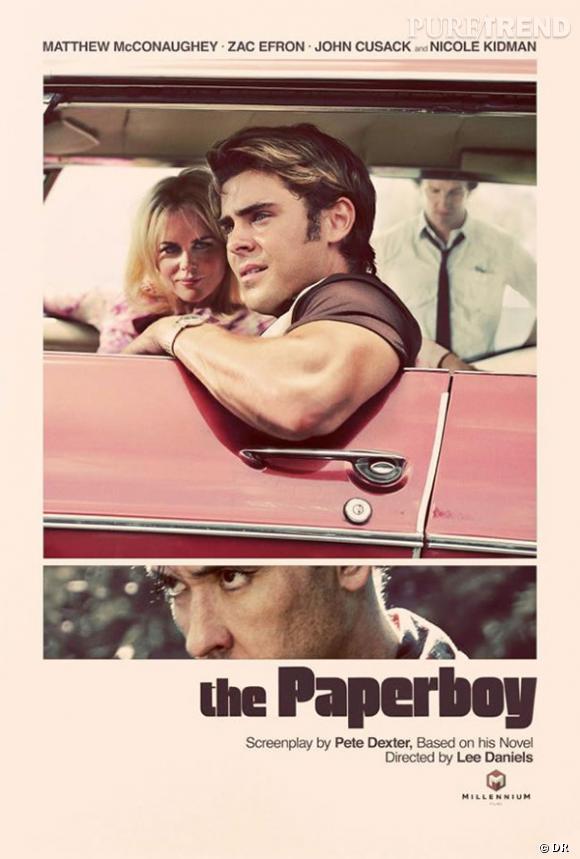 """L'affiche de """"The Paperboy""""."""
