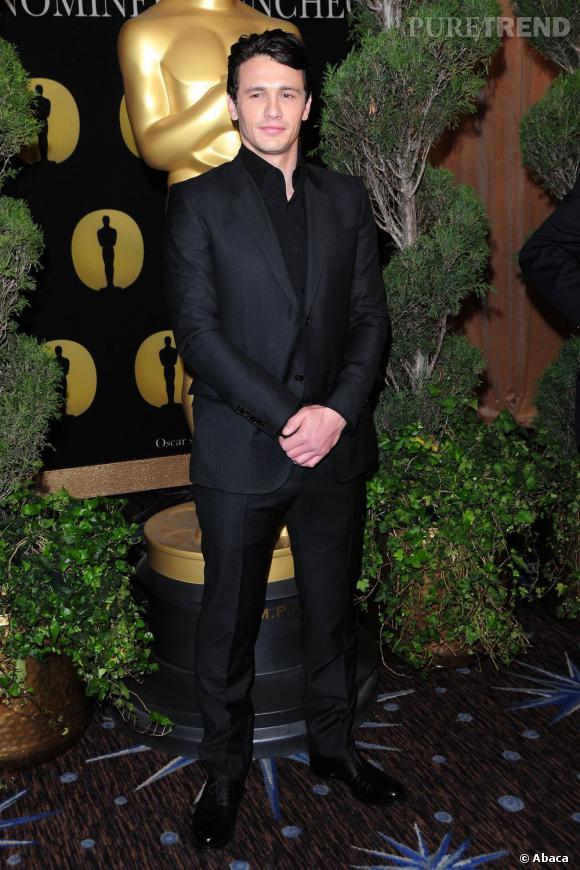 """Nom  : James Franco   CV :  Aussi admiré que décrié, James Franco est un  touche à tout. Il enchaîne les diplômes, les livres et les films.  Présentateur des derniers oscars, il est attendu dans pas moins de 11  films dont """"Howl"""" prévu pour février 2012. Son petit plus ? Il a été élu  célibataire juif le plus sexy de l'année 2011."""