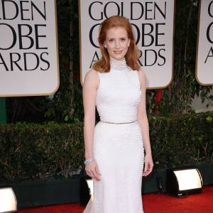 Jessica Chastain en Givenchy.