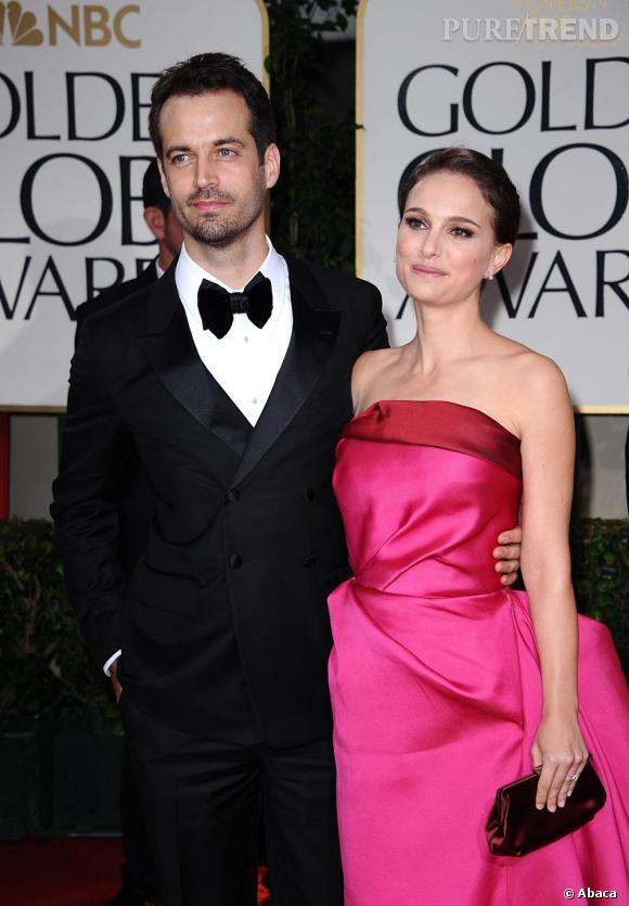 Benjamin Millepied et Natalie Portman.