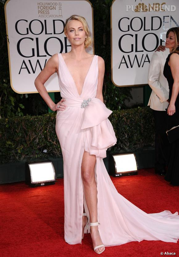 Charlize Theron en Christian Dior Couture.