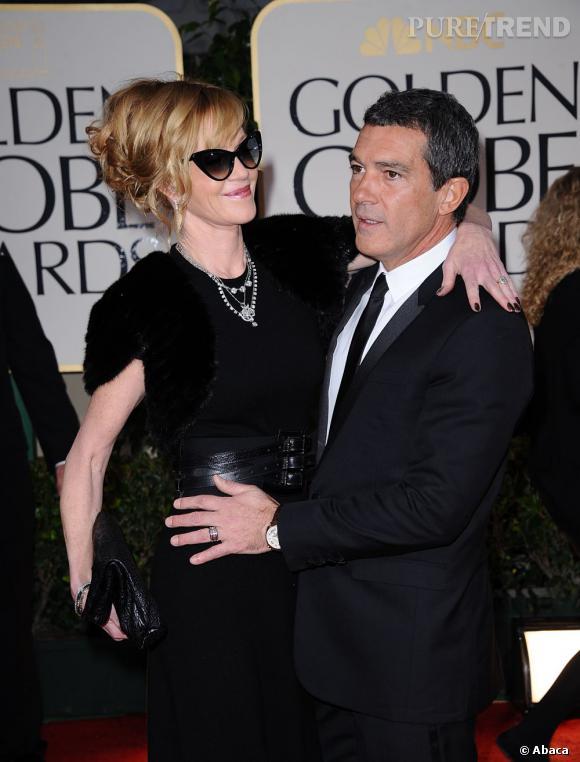 Melanie Griffith et Antonio Banderas.