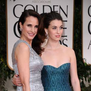 Andie MacDoWell et Rainey Qualley