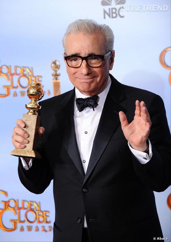 """Martin Scorsese, meilleur réalisateur pour """"Hugo Cabret""""."""