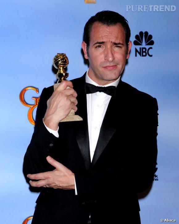 """Jean Dujardin, meilleur acteur dans une comédie pour """"The Artist""""."""