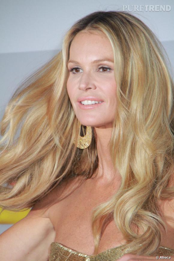Elle Macpherson à l'after-party des Golden Globes organisée par NBC.