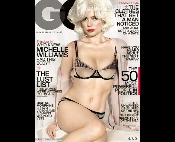 Michelle Williams pose pour le magazine GQ US.