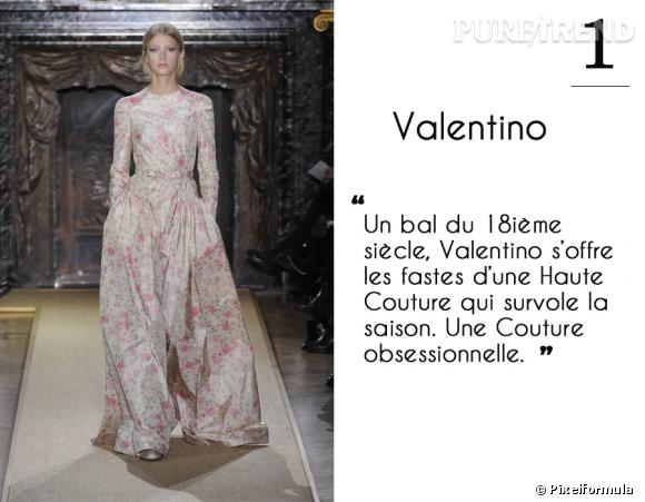 Défilé Valentino Haute Couture printemps-été 2012