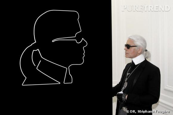 Karl Lagerfeld a abandonné l'idée d'un sosie.