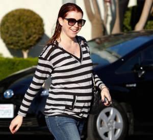 Alyson Hannigan, une future maman tres cool