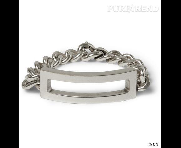 Bracelet Maison Martin Margiela        Bracelet en argent.     Prix : 276.37€      En vente sur www.mrporter.com