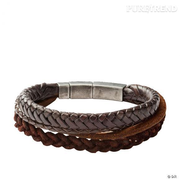 Bracelets Fossil        Prix : 49€     En vente sur  www.fossil.fr