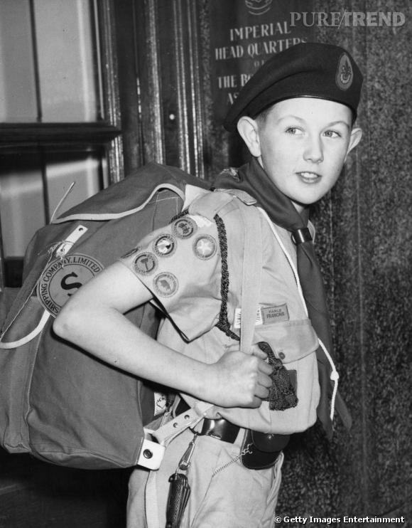 Le célèbre sac à dos, indispensable de tout boy scout qui se respecte.
