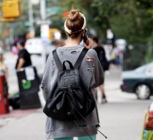 Le must chez les hipsters new-yorkais, le modèle oversized vintage et surtout griffé comme celui de Whitney Port.